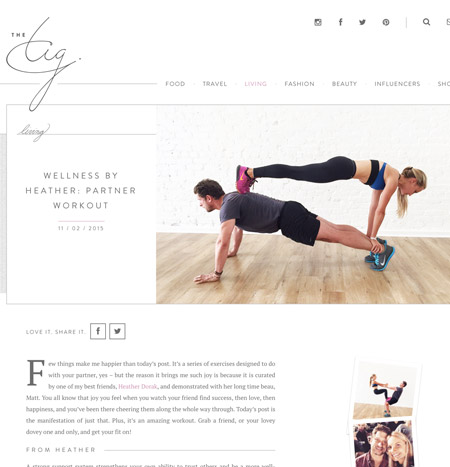 Pilates Platinum on TheTig.com