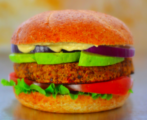 quinoa-and-almond-burger